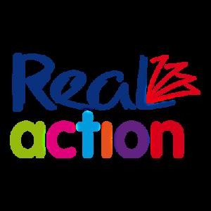 Real Action logo Charity Readingmate